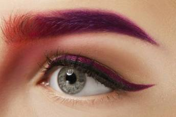 eyebrow colourful